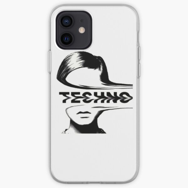 Techno music iPhone Soft Case