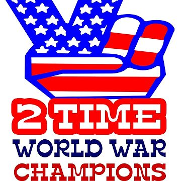 Two time back to back world war champs geek funny nerd by jekonu
