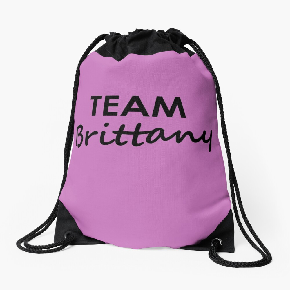 Team Brittany - Drawstring Bag Drawstring Bag