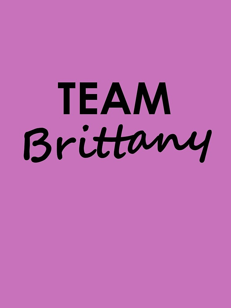 Team Brittany - Drawstring Bag by embourne