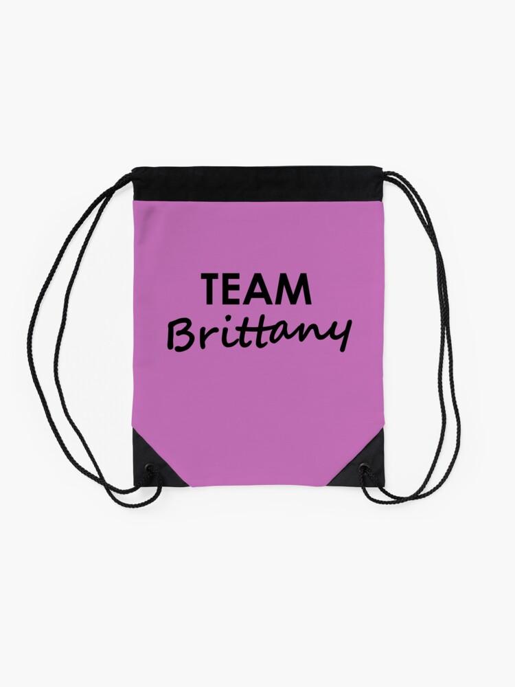 Alternate view of Team Brittany - Drawstring Bag Drawstring Bag