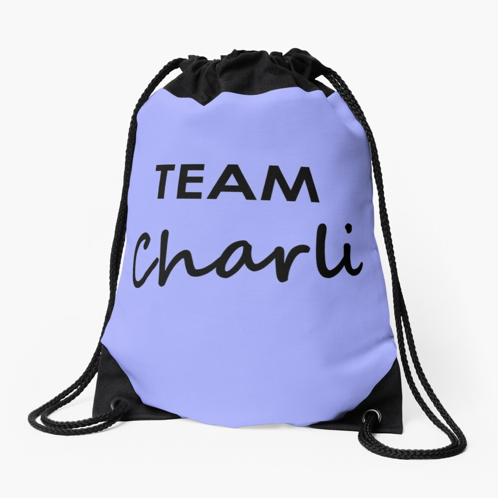 Team Charli - Drawstring Bag Drawstring Bag