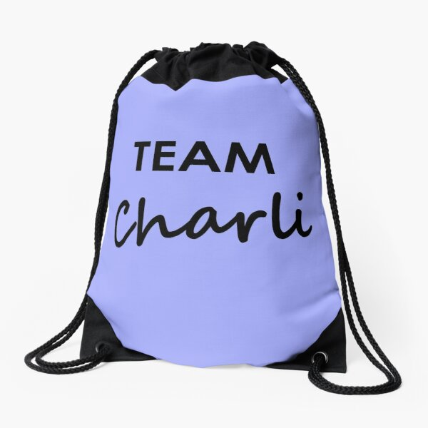 Team Charli - Drawstring Bag Drawstring Bag