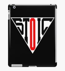 Stoic Triangle - Black Red iPad Case/Skin