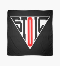 Stoic Triangle - Black Red Scarf