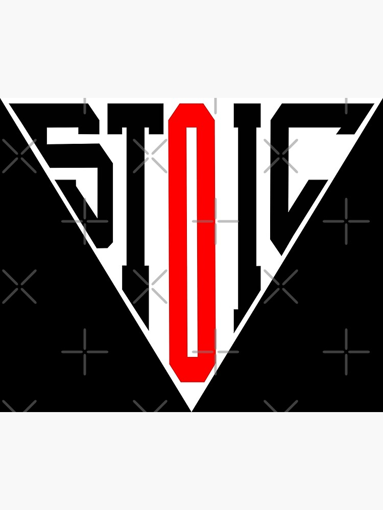 Stoic Triangle - Black Red by StoicMagic