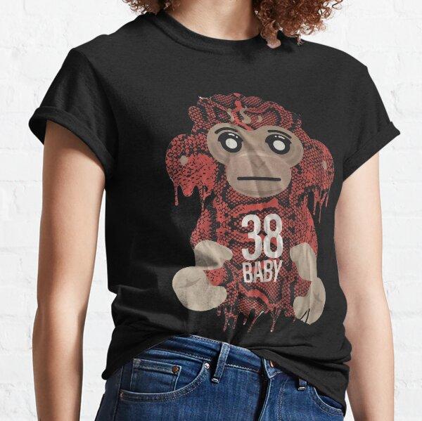 Youngboy ne s'est jamais cassé à nouveau vitesse coloré de singe, T-shirt classique NBA de 38 Baby Merch T-shirt classique