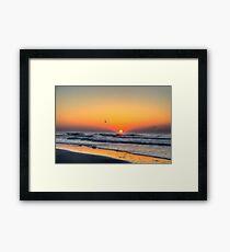 Myrtle Beach Sunrise Framed Print