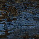 Eroded Blue Paint by LydiaWoods
