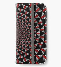 Stoic Flower - Red White iPhone Wallet/Case/Skin