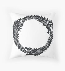 The Elder Scrolls logo Throw Pillow