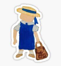 Toddies September Back to School Baby Girl Toddler Sticker