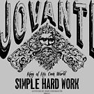jovanti simple hard work by Vana Shipton