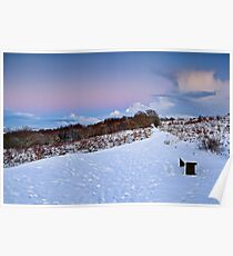 Winter Storm Clouds - Waldridge Fell Country Park, UK Poster