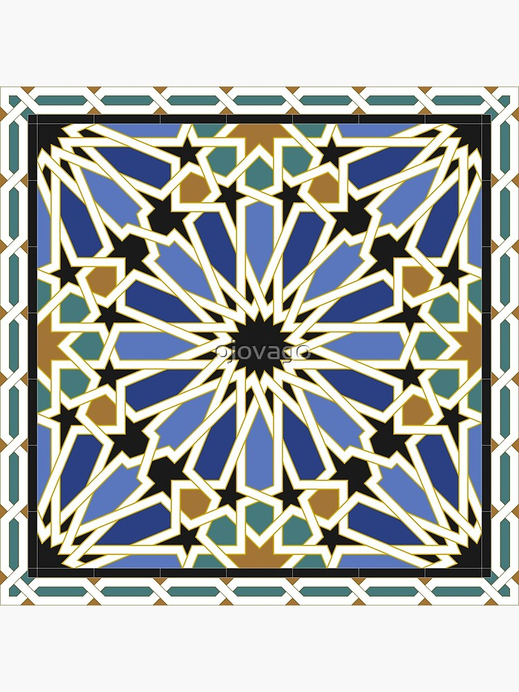 Arabic Tile I by ojovago