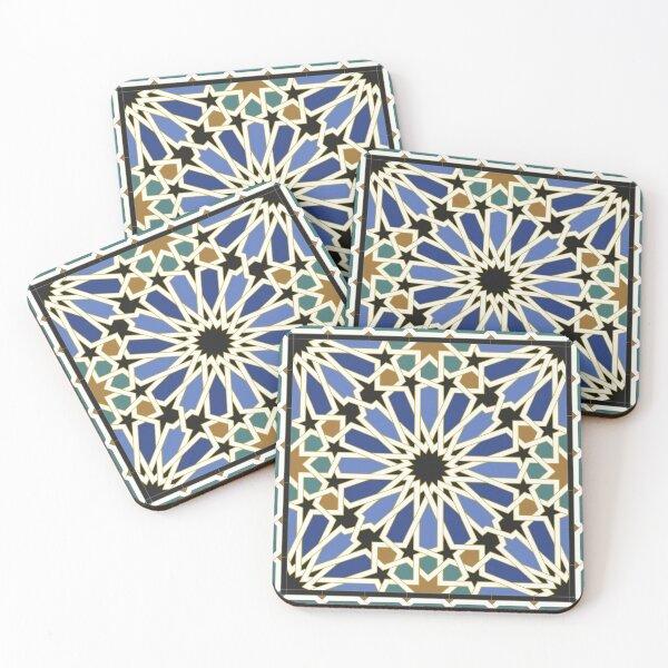 Arabic Tile I Coasters (Set of 4)