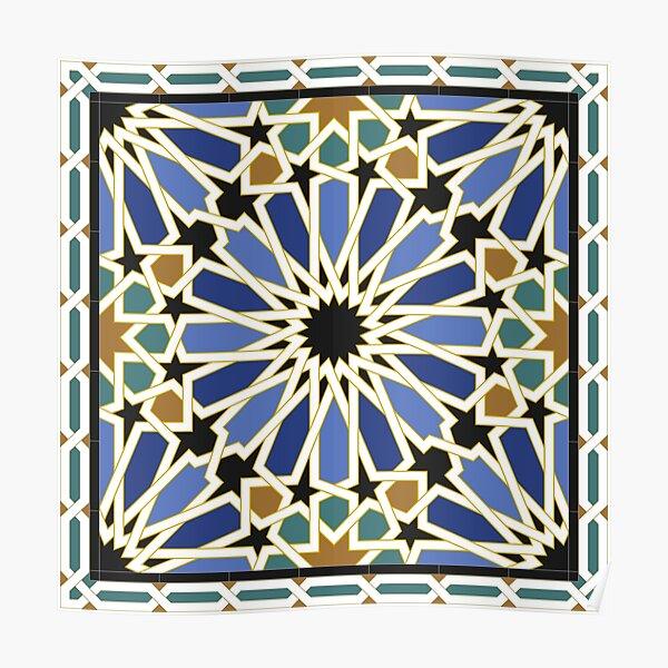 Arabic Tile I Poster