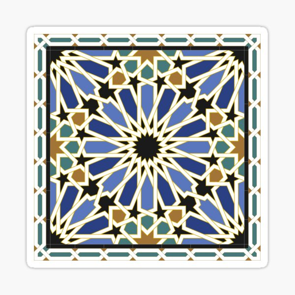 Tuile arabe I Sticker