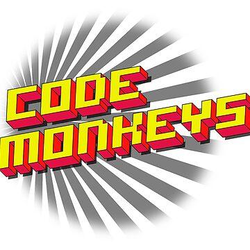 Code Monkeys Title by BlueApex