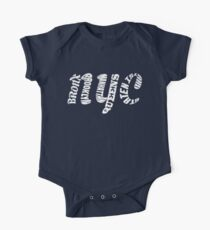 New York City Five Boroughs Typography Kids Clothes
