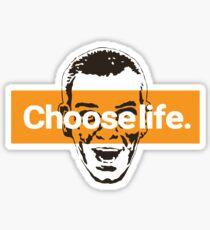 Choose life. Sticker
