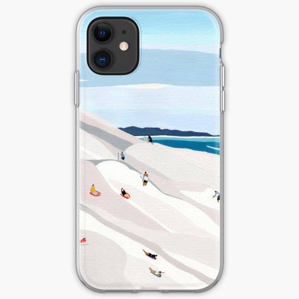 Sand dunes iPhone Soft Case