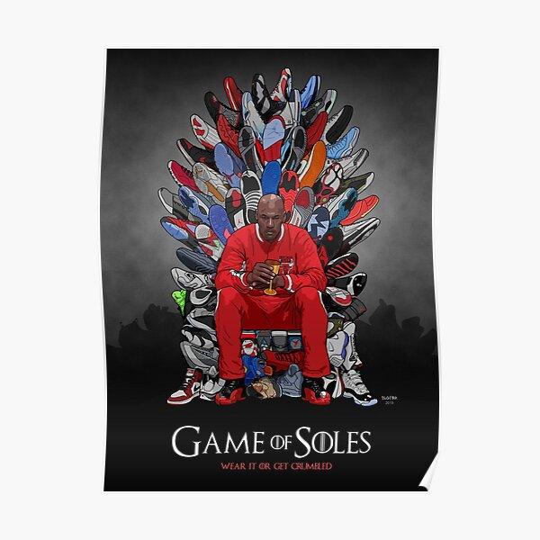 Sneaker Thron Poster