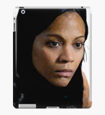 Zoe Saldana iPad Case/Skin