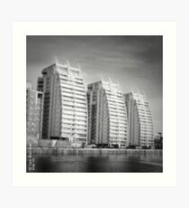 Tower Blocks - Salford Art Print