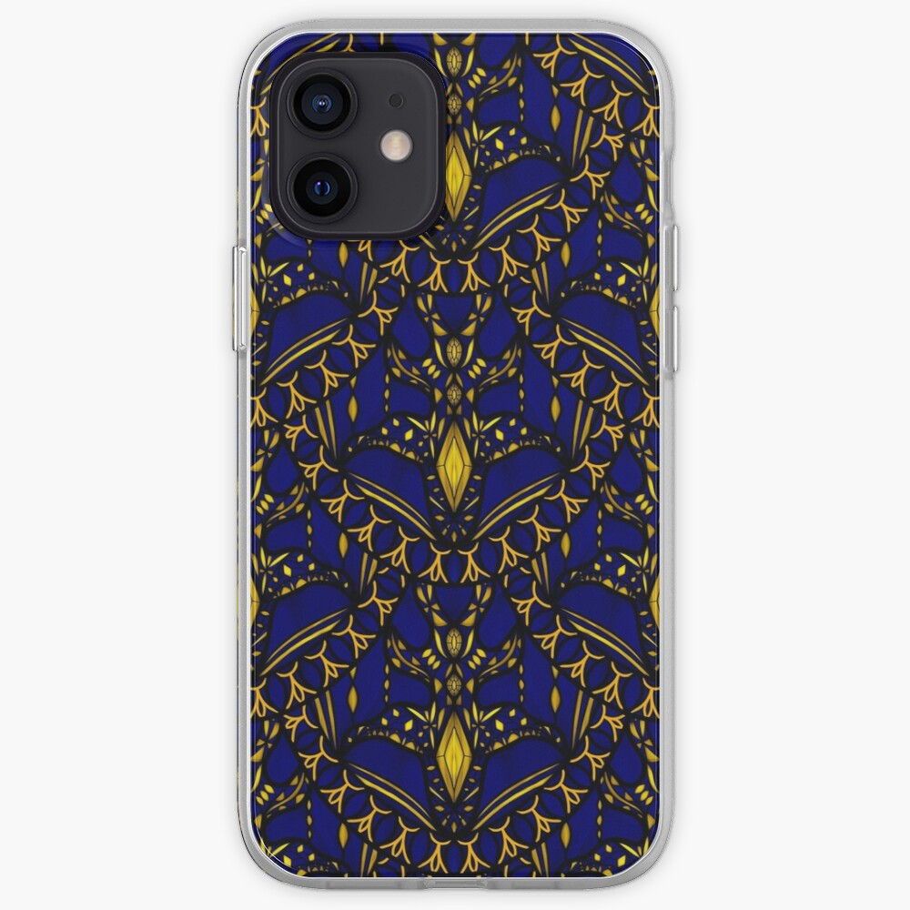 Sapphire Scales iPhone Case & Cover