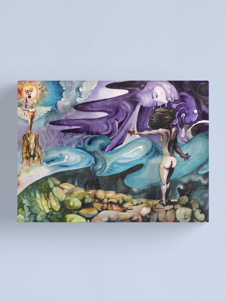 Alternate view of Spilt Blood and Personifications Canvas Print