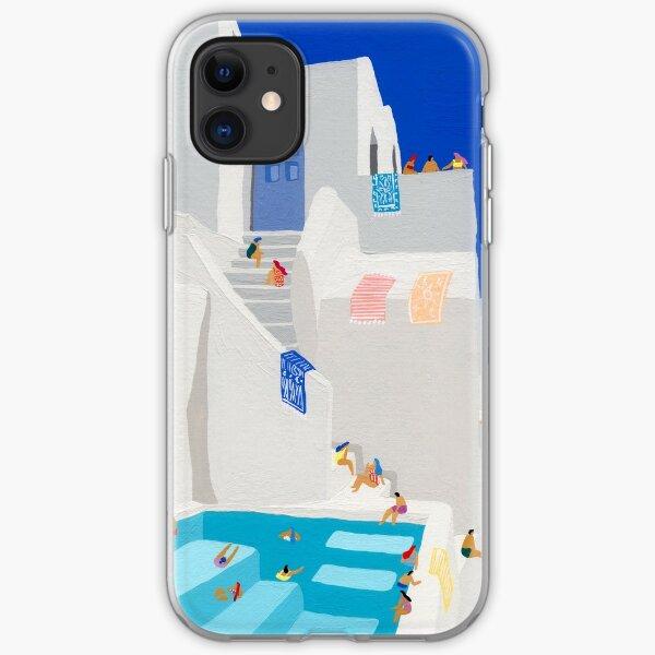 Santorini Sun iPhone Soft Case