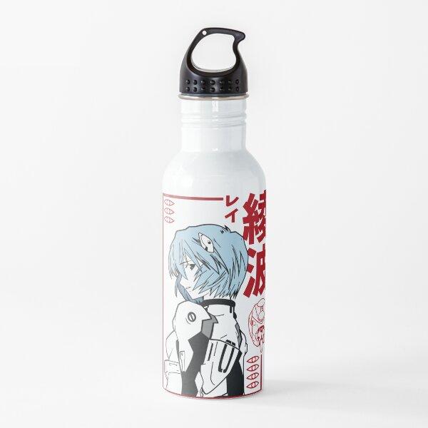 Black Evangelion Rei Ayanami Water Bottle