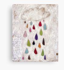 The rain cloud Canvas Print