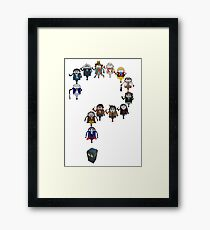 Who's Who are You? Framed Print