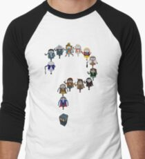 Who's Who are You? Men's Baseball ¾ T-Shirt