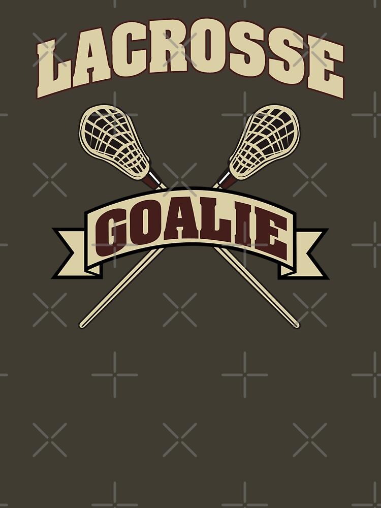 Lacrosse Goalie Dark by SportsT-Shirts