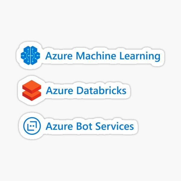 Azure AI and ML Sticker