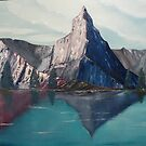 Reflections in the Swiss Alps by towncrier