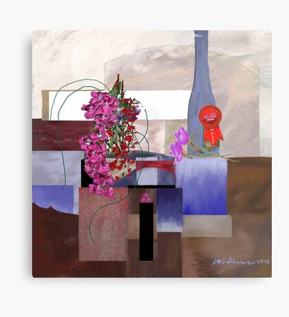 """Celebration"" - First prize for flower arranging. Metal Print"