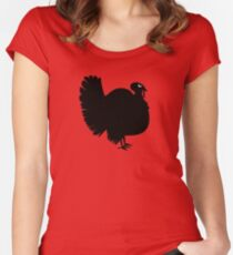 Angry Animals - Turkey Fitted Scoop T-Shirt