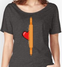 Heart through orange portal (version 1) Women's Relaxed Fit T-Shirt