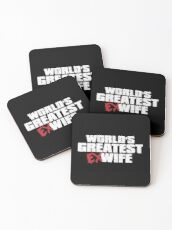 World's Greatest Ex Wife Coasters