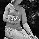 Kneeling Maiden with Flowers by Scott Mitchell
