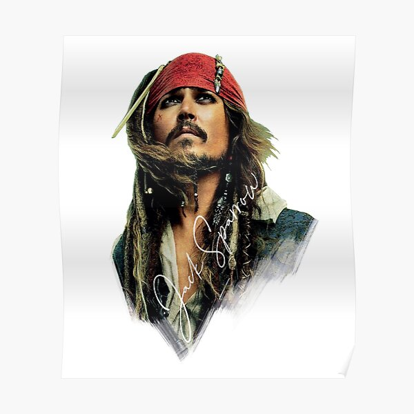 Awesome Merch of Jack Sparrow Poster
