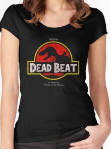 Jurassic Dresden Women's Fitted Scoop T-Shirt
