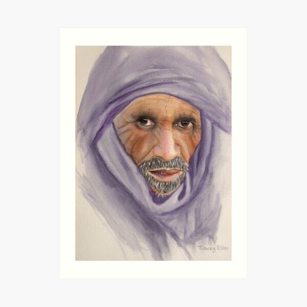 """Tuareg Elder"" Art Print"