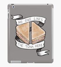 No One Likes The Tuna Here iPad Case/Skin