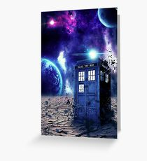 Doctor Who - Tardis  Greeting Card