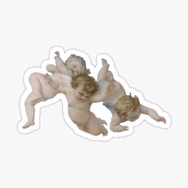 Three Cherubs Sticker